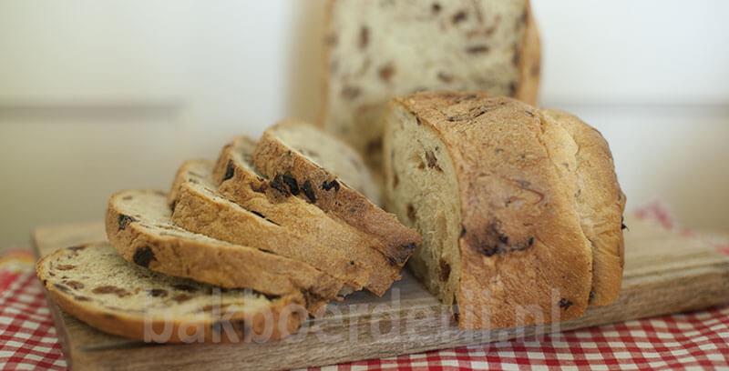 rozijnenbrood in de bbm