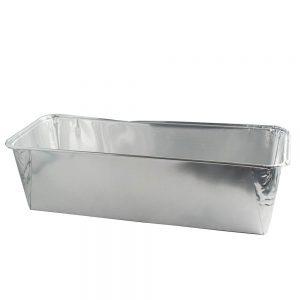 Aluminium wegwerpvorm suikerbrood groot-0